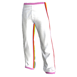 Rainbow Unicorn Warmup Pants