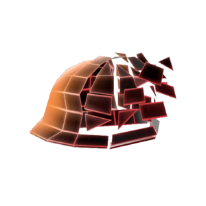 Unusual Defragmenting Hard Hat 17%